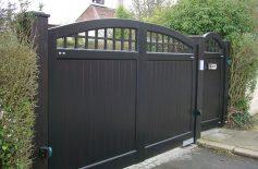 Hardwood Gates Belfast 10