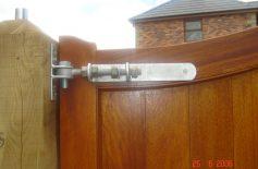 Hardwood Gates Belfast 16
