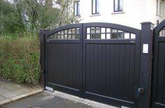 Hardwood Gates Belfast 8