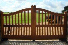 Ogden Oak Driveway Gates Belfast