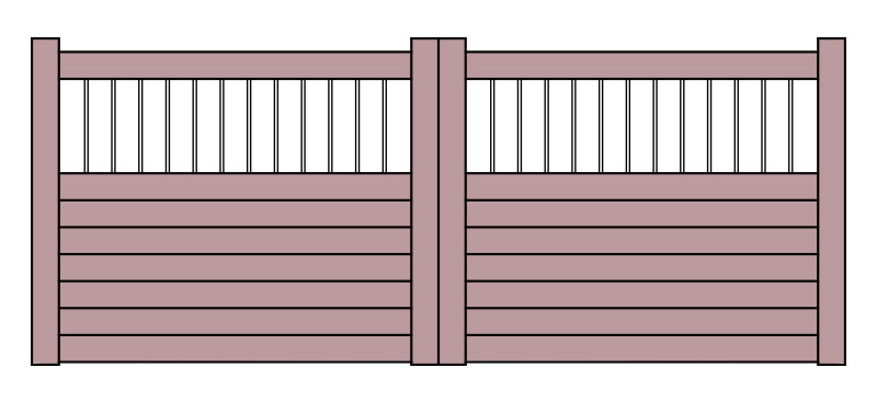 Regency Wooden Gates Belfast