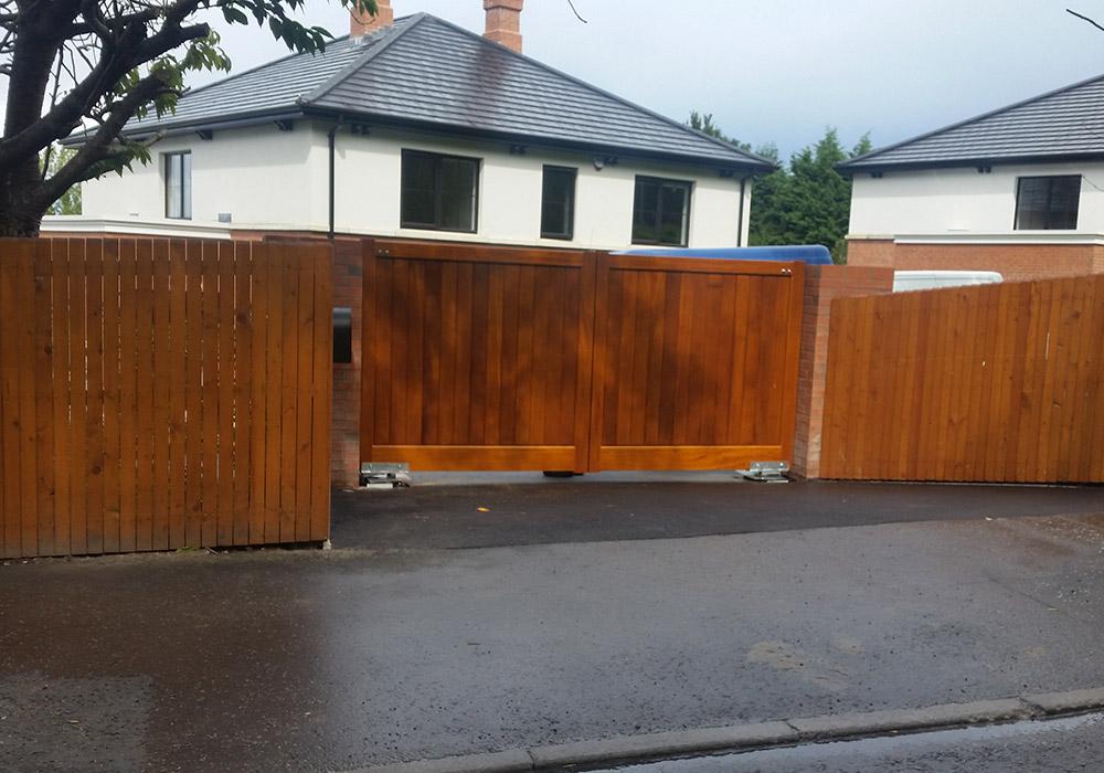 Wooden Gates Dublin 9 - Profix Joinery | Hardwood Gates